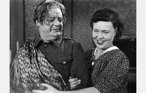 Sven Relander ja Elsa Turakainen.