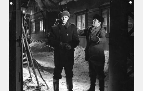 Matti Oravisto ja  Pentti Viljanen.