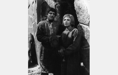 Tauno Palo ja Anneli Sauli.