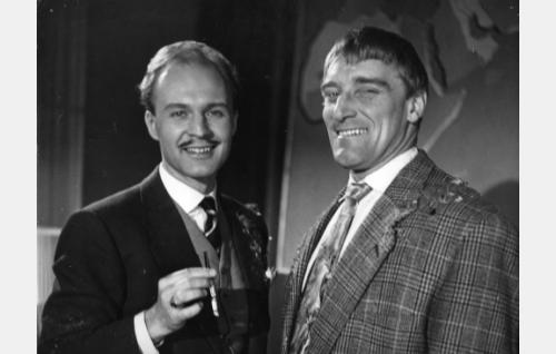 Kurt Ingvall ja Åke Lindman