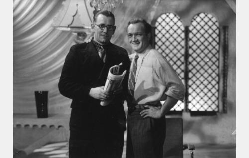 Uno Pihlström ja Charles Bauer.