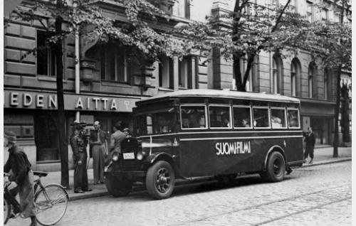 Lähtö Hankoon kesällä 1935