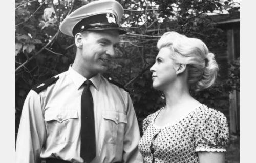 Ismo Kallio ja Leni Katajakoski.