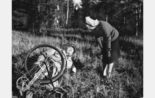 Paavo Jännes ja Helena Kara.