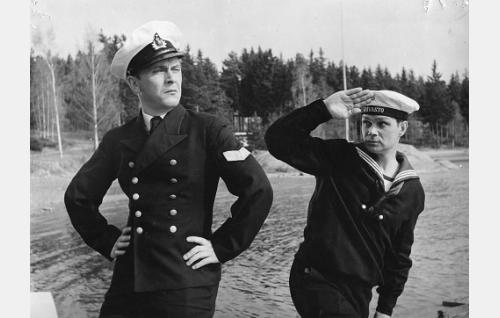 Ari Laine ja Leo Jokela.